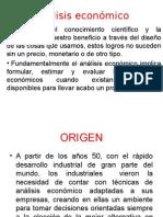 Unidad 1 Analisis Economico
