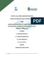 BASES NEUROFISIOLOGICA DE LOS RECURSOS TECNICOS APLICADOS EN EL TRATAMIENTO FISIOTERAPEUTICO EN EL PACIENTE HEMIPLEJICO.docx