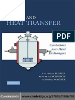 Cambridge - Mass and Heat Transfer Analysis of Mass Contactors and Heat Exchangers (Cambridge Series in Chemical Engineering)