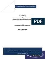 Antologia Derecho Internacional Privado