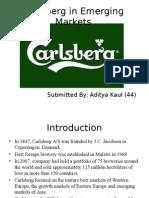 Carlsberg in Emerging Markets