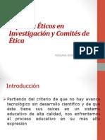 Ética en Investigación