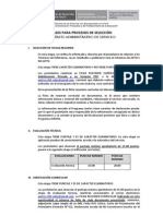 Bases Procesos Seleccion Sp. - Cass