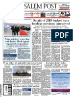 Jerusalem Post September 29th, 2014