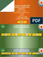 PPT Agama Dan Urgensi Agama Bagi Manusia Presentation2