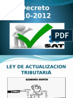 Decreto No. 10-2012