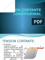Tension Cortante Longitudinal
