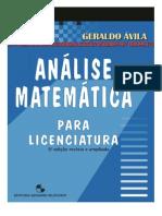Análise Para Licenciatura G,Ávila Completo.pdf