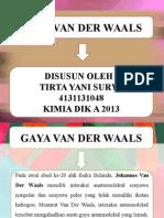 Gaya Van Der Waals
