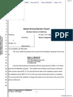 Feldman v. Google, Inc. - Document No. 21