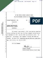 UniRAM Technology, Inc. v. Monolithic System Technology - Document No. 568