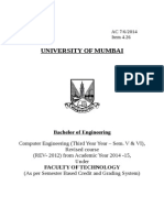 Syllabus for Third Year of Engineering