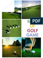 Rules and Regulations to Know before playing Golf Game
