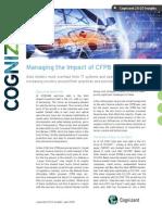 Managing the Impact of CFPB Regulations