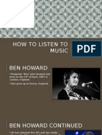 how to listen to music ppt 2
