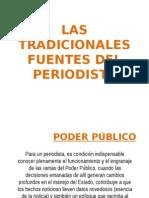Las Tradicionales Fuentes Del Periodista