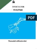 Manual Utilizare F510-F560 - Mai 2010