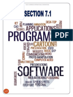 Section 7.1 – the Ways in Which ICT is Used