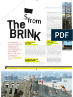 """Tales from the Brink,"" San Francisco Magazine, October 2014"
