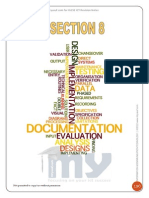 Section 8 – Systems Analysis and Design