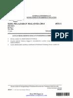 [spmsoalan]Soalan SPM 2014 Physics Paper 1 (Kertas 1 Fizik)