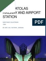 Case Study of Lyon Satolas Station