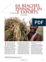 Rice Today vol. 14, no. 2 India reaches the pinnacle in rice exports