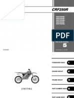 Crf250r service manual
