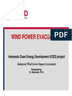 Indonesia Wind Sector Impact Assessment