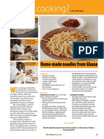 Rice Today vol. 14, no. 2 Home-made noodles from Ghana