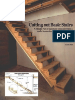 Cutting Out Basic Stairs