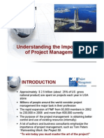 Lecture 1- Understanding the Importance of Project Management