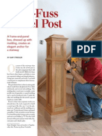 A No-Fuss Newel Post