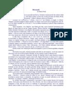 7.( Roman Postbelic - Realist - Obiectiv) Marin Preda - Morometii