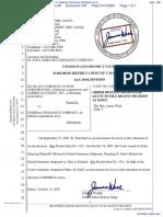 Netscape Communications Corporation et al v. Federal Insurance Company et al - Document No. 156