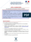 Appel Candidature 2014 Polytechique Version Francaise Pour Diffusion