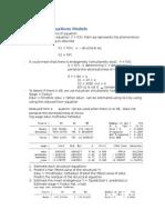 Simultaneous Equations Models