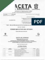 Gaceta Oficial del Estado de Mexico