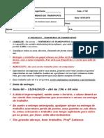 FENMENOS DE TRANSPORTES