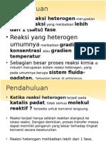 Reaksi Heterogen_rekayasa Biokimia