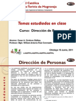 Curso Direccion de Personas (Cesar a. Cordova Oblitas)