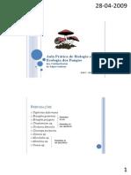 Aulas Práticas de Biologia e Ecologia dos Fungos2