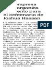 150414 La Verdad CG-Una Empresa Local Organiza Un Evento Para El Centenario de Joshua Hassan p.8