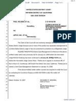 Holman et al v. Apple, Inc. et al - Document No. 9