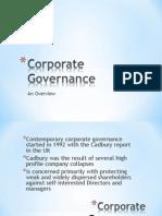 1 ACCA P1 Intro Corporate Governance