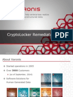 CryptoLocker Remediation