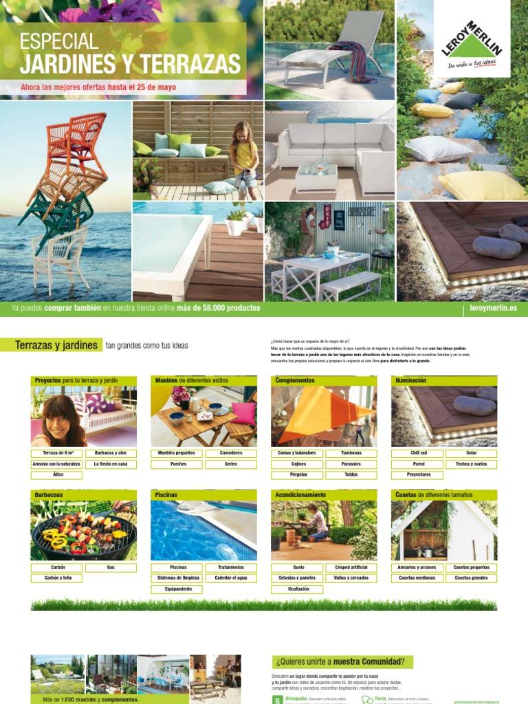 Catálogo Jardines Y Terrazas De Leroy Merlín