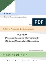 PLE Entornos Personales de Aprendizaje