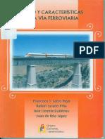 Diseño y Caracteristicas de La via Ferroviaria