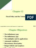 INFLATIONARY & DEFLATIONARY GAP